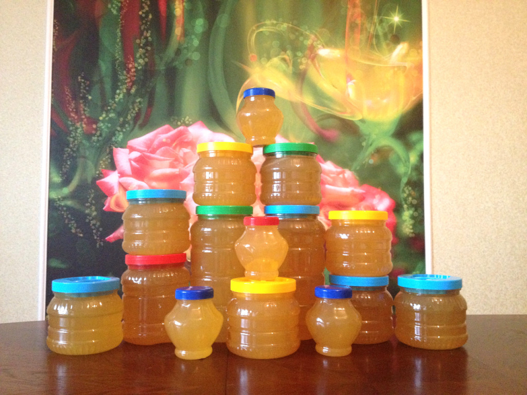 Мёд из экологически чистого Нуримановского района